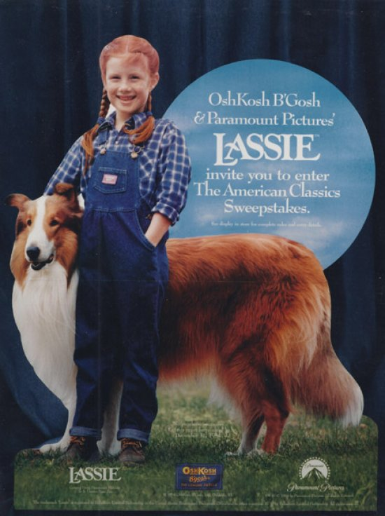 Lassie Standee